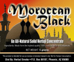 Moroccan Black Solid Smoke Concentrate